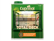 Cuprinol CUPTDC25L - Total Deck Restore & Oil Wood Clear 2.5 Litre