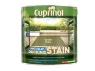 Cuprinol CUPUTDSGM25L - Anti Slip Decking Stain Golden Maple 2.5 Litre