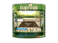 Cuprinol CUPUTDSHO25L - Anti Slip Decking Stain Hampshire Oak 2.5 Litre