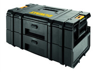 DEWALT DEW170728 - TOUGHSYSTEM DS250 2 Drawer Toolbox