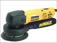 DEWALT DEW443 - DW443 150mm Body Grip Random Orbit Variable Speed Sander 530 Watt 230 Volt