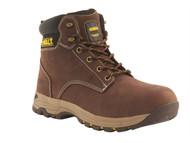 DEWALT DEWCARBON11B - Carbon Safety Brown Nubuck Hiker Boots UK 11 Euro 46