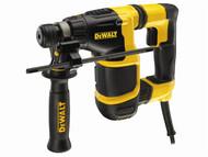 DEWALT DEWD25052KT - D25052KT Sub Compact Hammer 650 Watt 240 Volt