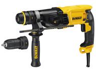 DEWALT DEWD25134KL - D25134KL SDS 3 Mode QCC Hammer Drill 800 Watt 110 Volt