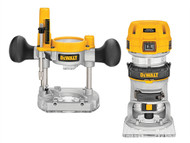 DEWALT DEWD26204K - D26204K 1/4in Premium Plunge & Fixed Base Combi Router 900 Watt 230 Volt