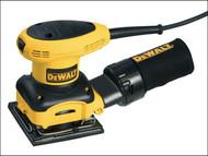 DEWALT DEWD26441 - D26441 1/4 Sheet Palm Sander 230 Watt 240 Volt