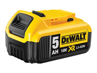 DEWALT DEWDCB184 - DCB184 XR Slide Battery Pack 18 Volt 5.0Ah Li-Ion