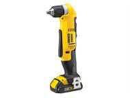 DEWALT DEWDCD740C1 - DCD740C1 XR Angle Drill 18 Volt 1 x 1.5Ah