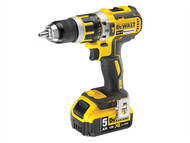 DEWALT DEWDCD795P2 - DCD795P2 XR Compact Brushless Hammer Drill Driver 18 Volt 2 x 5.0Ah Li-Ion