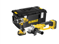 DEWALT DEWDCK293M2 - DCK293M2 XRP 3 Speed Twin Pack 18 Volt 2 x 4.0Ah Li-Ion