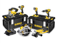 DEWALT DEWDCK691M3 - DCK691M3 Cordless 2 Speed 6 Piece Kit 18 Volt 3 x 4.0Ah Li-Ion