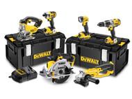 DEWALT DEWDCK692M3 - DCK692M3 Cordless 3 Speed 6 Piece Kit 18 Volt 3 x 4.0Ah Li-Ion