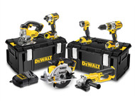 DEWALT DEWDCK694P3 - DCK694P3 Brushless 3 Speed 6 Piece Kit 18 Volt 3 x 5.0Ah Li-Ion