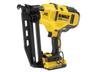 DEWALT DEWDCN660D2 - DCN660D2 Cordless XR Brushless Second Fix Nailer 18 Volt 2 x 2.0Ah Li-Ion