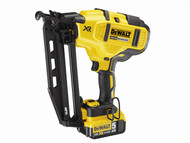 DEWALT DEWDCN660P2 - DCN660P2 Cordless XR Brushless Second Fix Nailer 18 Volt 2 x 5.0Ah Li-Ion