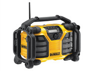 DEWALT - DCR016 XR FM/AM Radio 240 Volt & Li-Ion Bare Unit