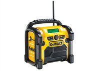 DEWALT DEWDCR019 - DCR019 XR FM/AM Radio 240 Volt & Li-Ion Bare Unit