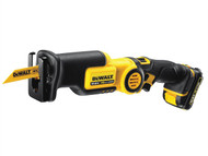 DEWALT DEWDCS310D2 - DCS310D2 Cordless Pivot Reciprocating Saw 10.8 Volt 2 x 2.0Ah Li-Ion
