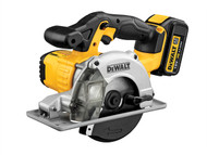 DEWALT DEWDCS373M2 - DCS373M2 140mm XR Circular Saw Metal Cutting 18 Volt 2 x 4.0Ah Li-Ion