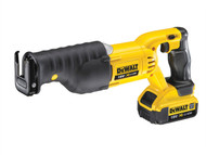 DEWALT DEWDCS380M2 - DCS380M2 XR Premium Reciprocating Saw 18 Volt 2 x 4.0Ah Li-Ion