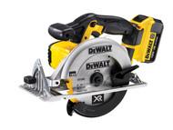 DEWALT DEWDCS391M2 - DCS391M2 165mm XR Premium Circular Saw 18 Volt 2 x 4.0Ah Li-Ion