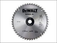 DEWALT DEWDT1161QZ - Circular Saw Blade 305 x 30mm x 48T Series 30 General-Purpose