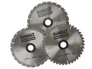 DEWALT DEWDT1172QZ - Circular Saw Blade 216mm + Aluminium Case