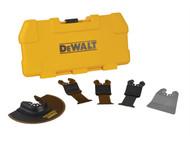 DEWALT DEWDT20715 - DT20715 Multi-Tool Accessory Blade Set 5 Piece