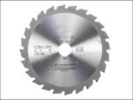 DEWALT DEWDT4310QZ - Circular Saw Blade 216 x 30mm x 24T Series 60 Fast Rip