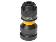 DEWALT DEWDT7508QZ - DT7508 1/2in Drive to 1/4in Hex Impact Adaptor
