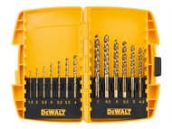 DEWALT DEWDT7920BQZ - DT7920BQZ Small Tough Case Metal Drill Set 13 Piece