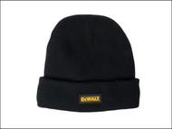 DEWALT DEWDWCKWH - DWC13001 Black Knitted Wool Hat