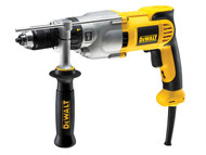 DEWALT DEWDWD524KS - DWD524KS 2 Speed Piston Percussion Drill 1100 Watt 240 Volt