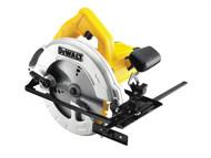 DEWALT DEWDWE560KL - DWE560KL 184mm Compact Circular Saw & Kitbox 1350 Watt 110 Volt