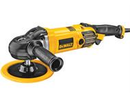 DEWALT DEWDWP849X - DWP849X 150/180mm Variable Speed Polisher 1250 Watt 230 Volt