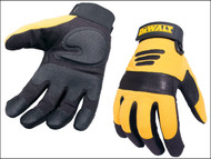 DEWALT DEWPERFORM2 - Synthetic Padded Leather Palm Gloves