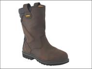 DEWALT DEWRIGGER10 - Rigger Boots Brown UK 10 Euro 44