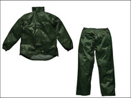 Dickies DIC10050MG - Green Vermont Waterproof Suit - M (40-42in)