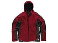 Dickies DIC7010RBM - Two Tone Softshell Red / Black Jacket - M