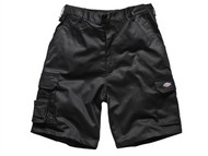 Dickies DIC83438B - Redhawk Cargo Shorts Black Waist 38in