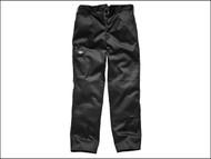 Dickies DIC88442RB - Redhawk Cargo Trouser Black Waist 42in Regular