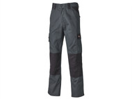 Dickies DICED24734S - Everyday Trousers Grey / Black Waist 34in Short
