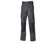 Dickies DICED24738S - Everyday Trousers Grey / Black Waist 38in Short