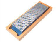 DMT DMTW8C - Diamond Whetstone 200mm Wooden Box Blue 325 Grit Coarse