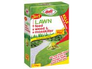 DOFF DOFLW050 - 3in1 Lawn Feed, Weed & Mosskiller 1.75kg