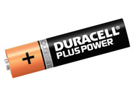 Duracell DURAAAK4P - AAA Cell Plus Power Batteries Pack of 4 RO3A/LR0