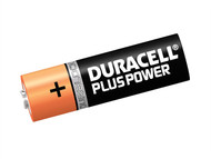 Duracell DURAAK4P - AA Cell Plus Power Batteries Pack of 4 LR6/HP7