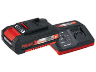 Einhell EINPXSTKIT - Power X-Change Battery & Charger Starter Kit 18 Volt 1 x 1.5Ah Li-Ion