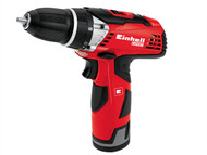 Einhell EINTECD12LI - TE-CD 12LI Cordless Drill Driver 12 Volt 2 x 1.3Ah Li-Ion