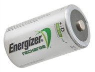 Energizer ENGRCD2500 - D Cell Rechargeable Power Plus Batteries RD2500 mAh Pack of 2